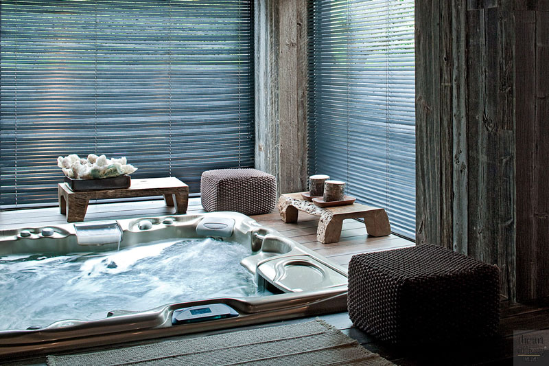 Wellness, zwembad, sauna, jacuzzi, whirlpool, douche, Leeflang Architectuur, The Art of Living