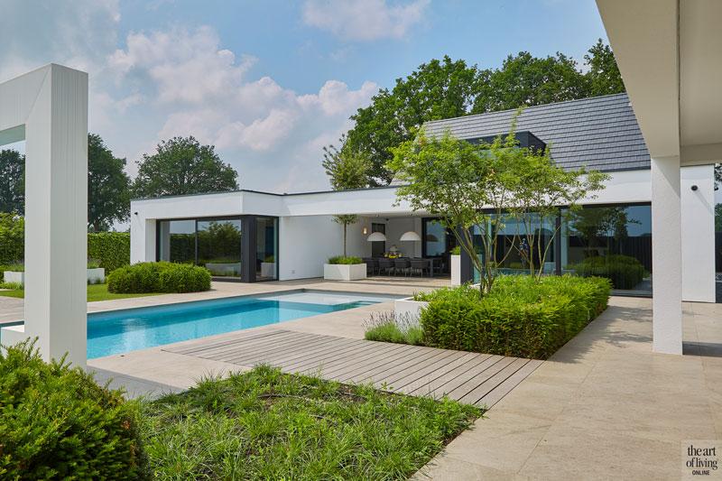 Zwembad, Zwembaden, pool, swimming pool, Marbella villa in Brabant, RMR Interieurbouw, The Art of Living