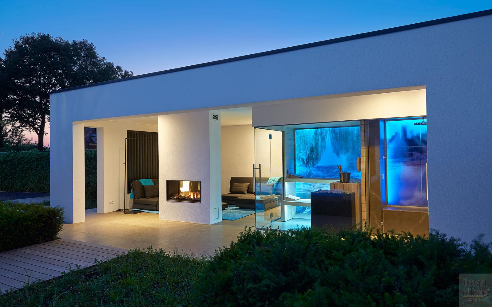 Wellness, zwembad, sauna, design, Marbella villa in Brabant, RMR Interieurbouw, The Art of Living