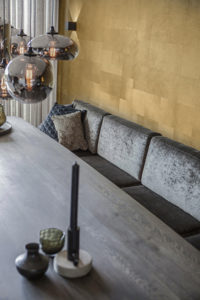 Luxueuse woonkamerinrichting, Studio Mariska Jagt, Woonkamer, Inrichting, Design, Metropolitain, Keuken, Eettafelstoelen, Luxe, High End