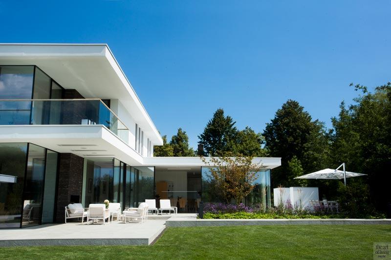 Moderne villa in natuur, Moderne villa, design, exclusief, the art of living, Van Egmond Totaal Architectuur, van egmond
