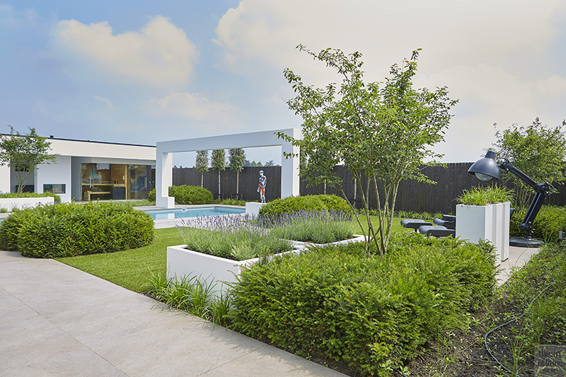 RMR Interieurbouw, moderne villa, wellness, zwembad, moderne villa, nieuwbouw villa, The Art of Living Online