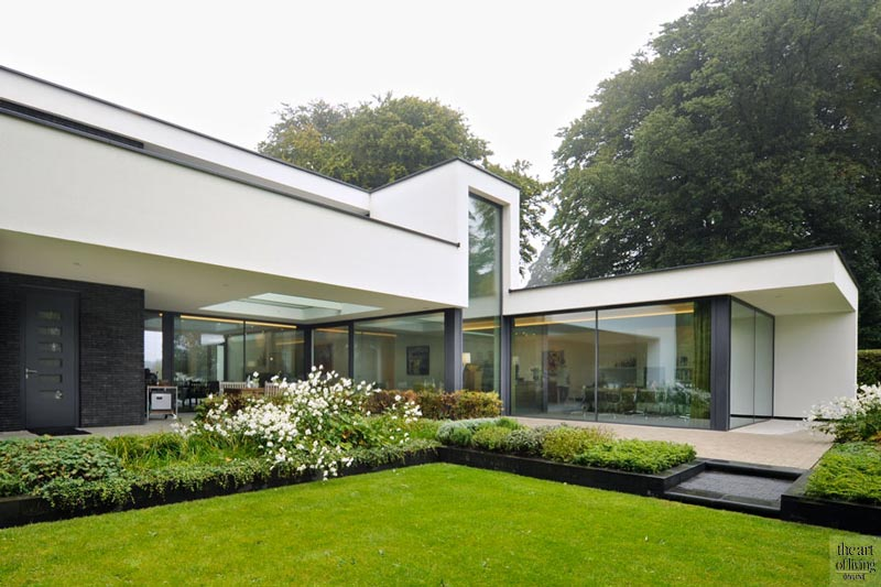 Strak & modern landhuis, Maas Architecten, the art of living, exclusief, moderne villa, modern, design, modern huis, moderne huizen