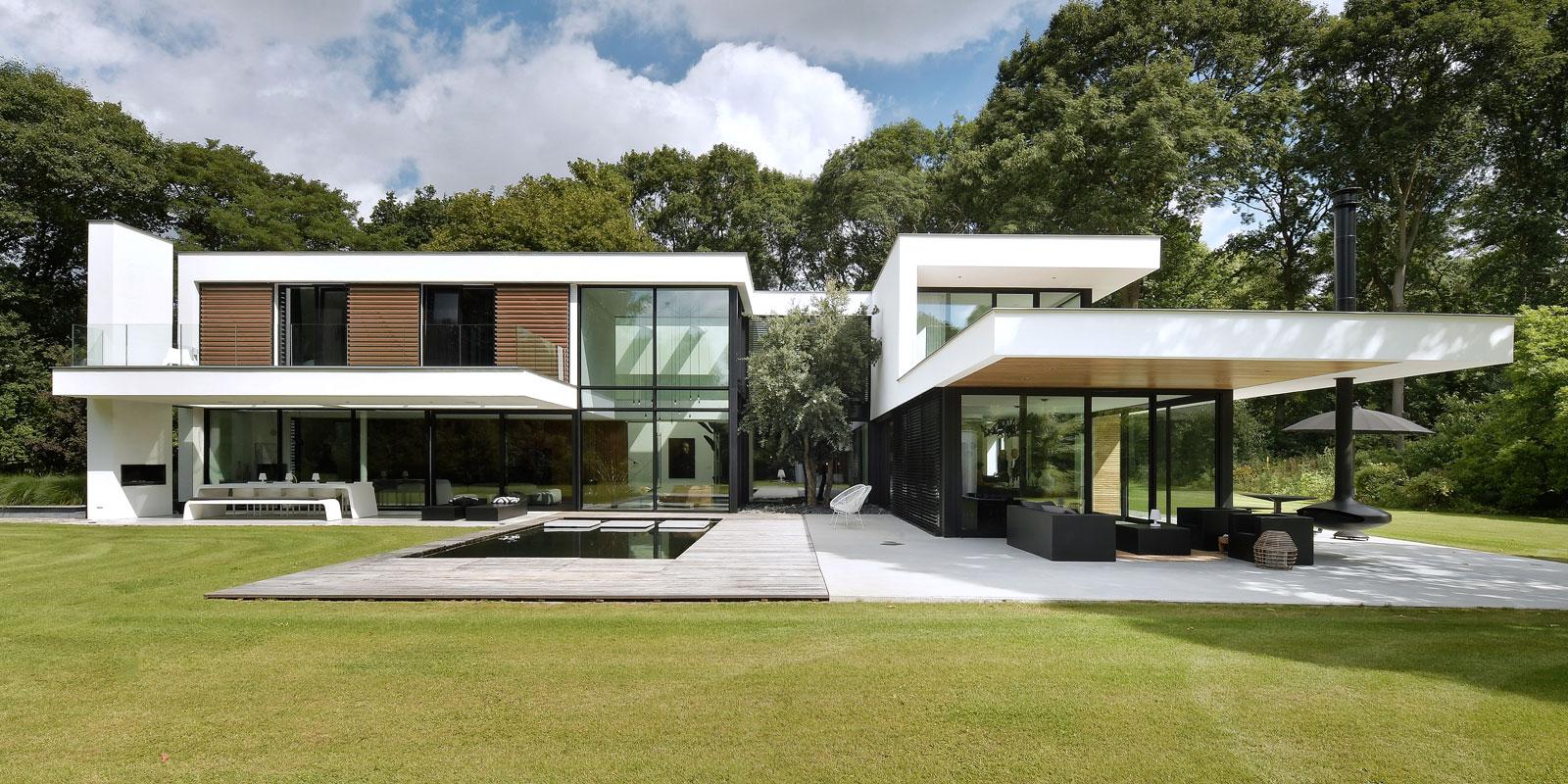 luxe villa, lab32 architecten, moderne villa, villa bouwen, villa ontwerpen, strak interieur, interieurontwerper, the art of living, event, woonbeurs