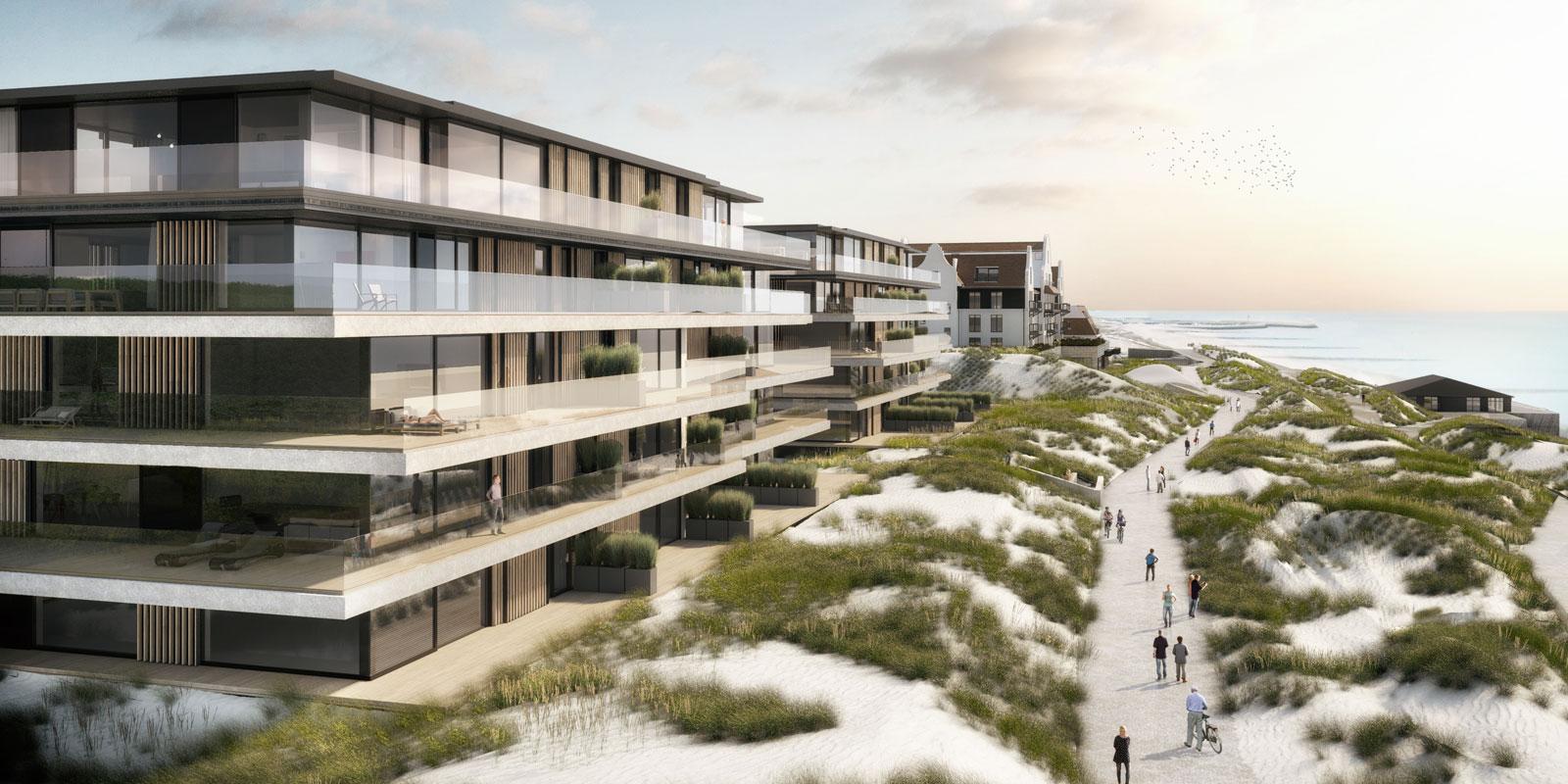 Versluys groep, de blanke top, residentie de blanke top, wonen aan zee, appartementen, the art of living