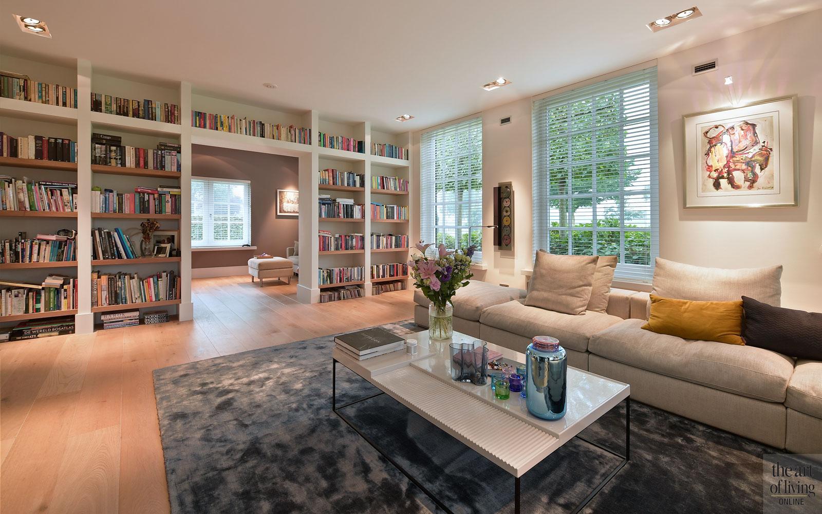 Woonkamer Van Djs : Villa in boederijstijl stalendeurenhuys woonkamer the art of