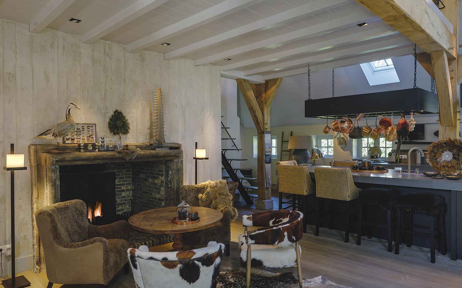 Sfeervolle verlichting in landelijke villa, Maretti Lighting