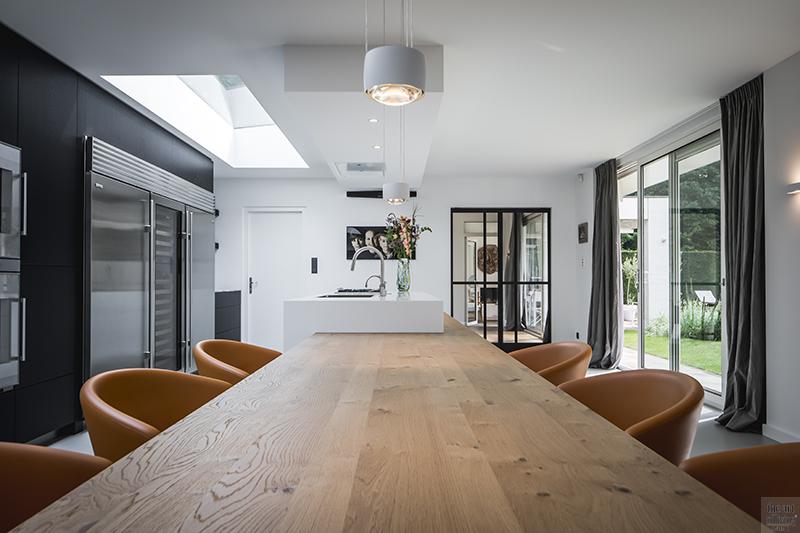 Unieke, keuken, Culimaat, hout, art of living