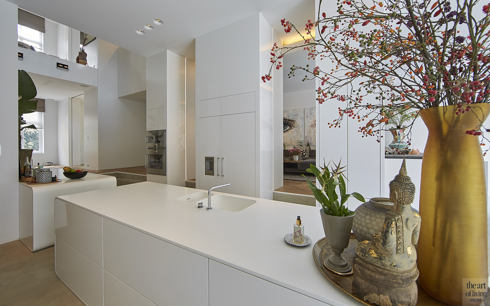 Moderne Kunst Keuken : 10 unieke keukens the art of living nl