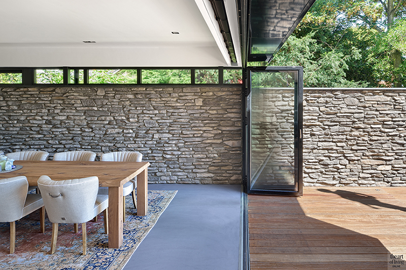 Natuur, Solarlux, The Flagstone, eikenhout, natuursteen, Theartofliving