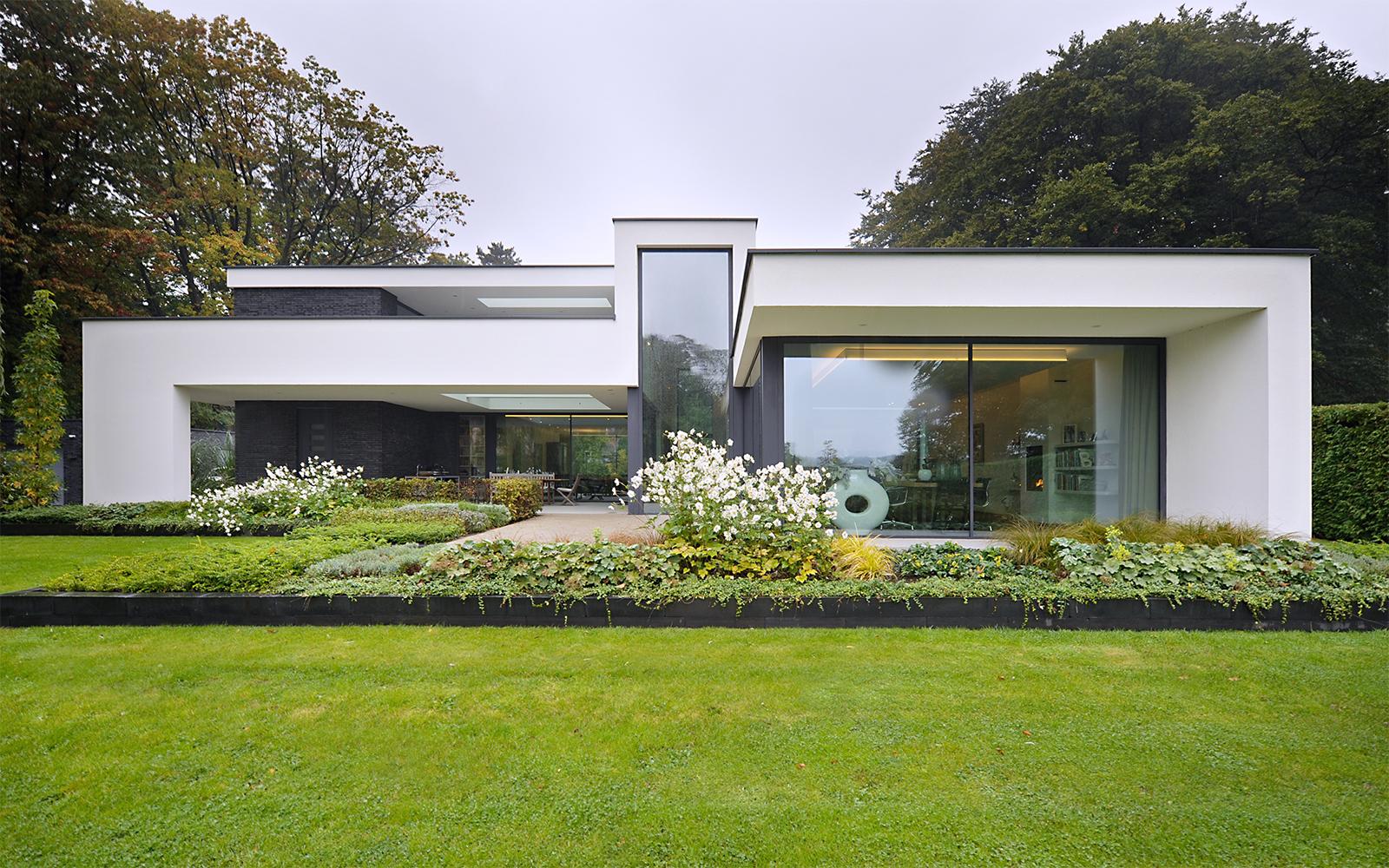 Maas architecten the art of living nl for Modern landhuis