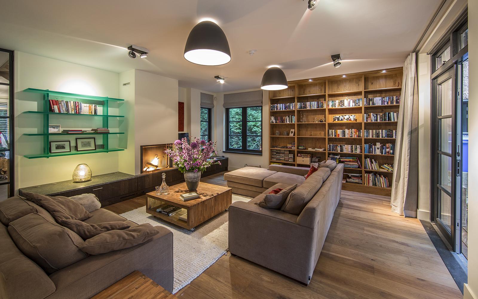 Denoldervleugels - Landelijke villa, Landelijke living, woonkamer