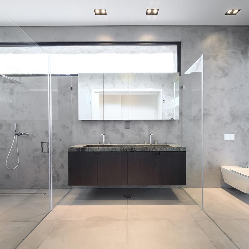 Badkamer, villa Maretti Lighting, verlichting in het hoger segment