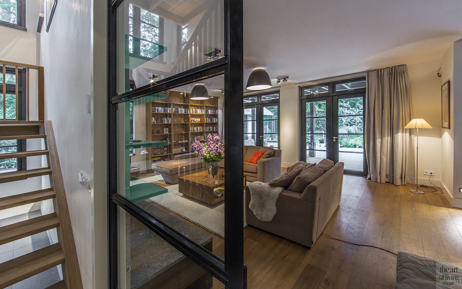Villa, Denoldervleugels, Theartofliving, landelijke villa, hout, interieur