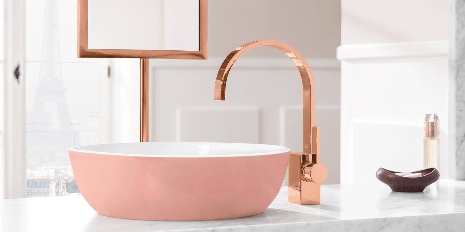 Badkamer, Design, Villeroy & Boch, wasbak, kleur