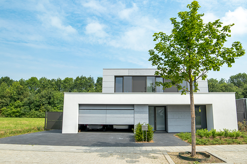 Moderne elektrische garagedeur | Different Doors