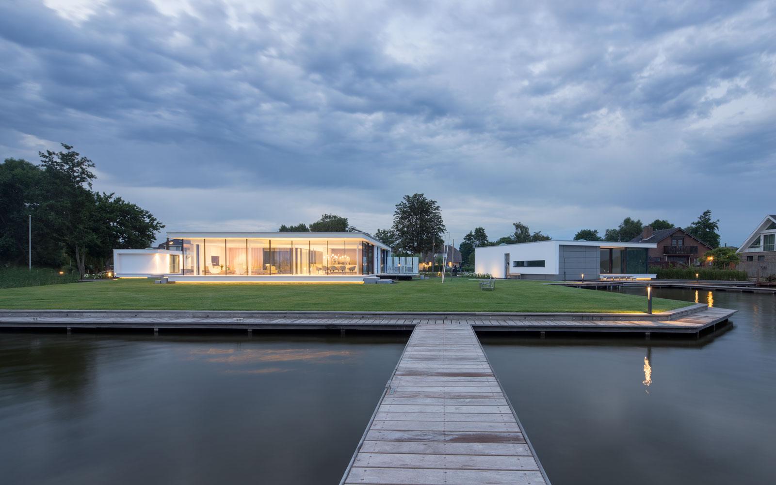 Moderne villa, Lab 32, the art of living, villa bouwen