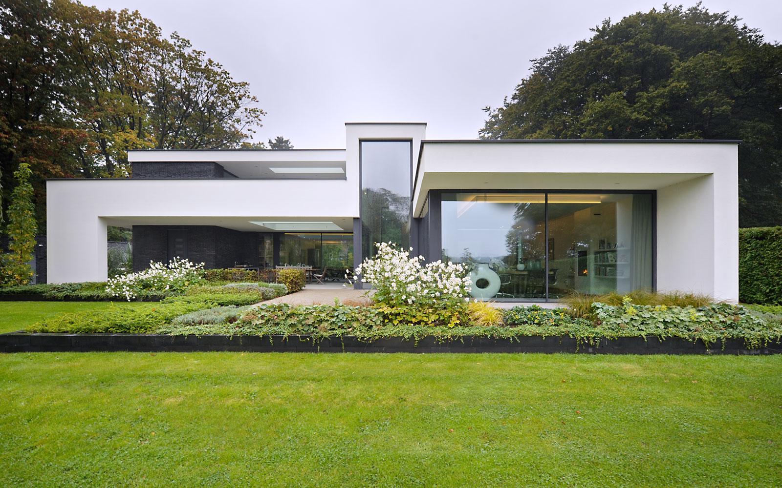 moderne villa, villa bouwen