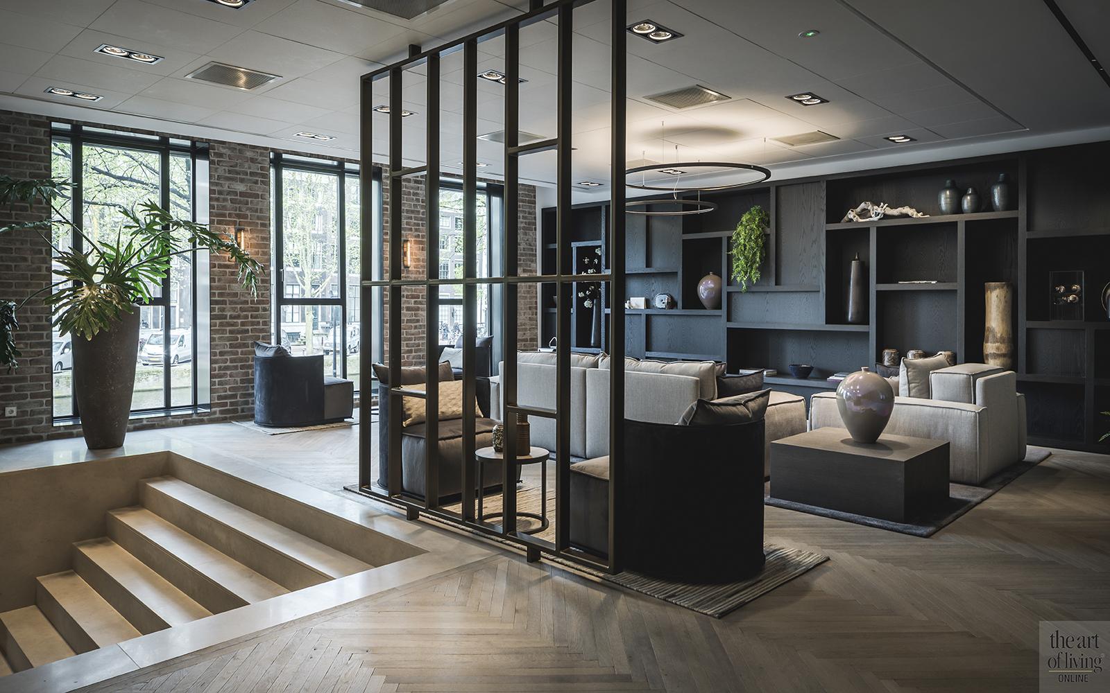 Luxueuze kantoorinrichting kabaz architecten the art of living nl
