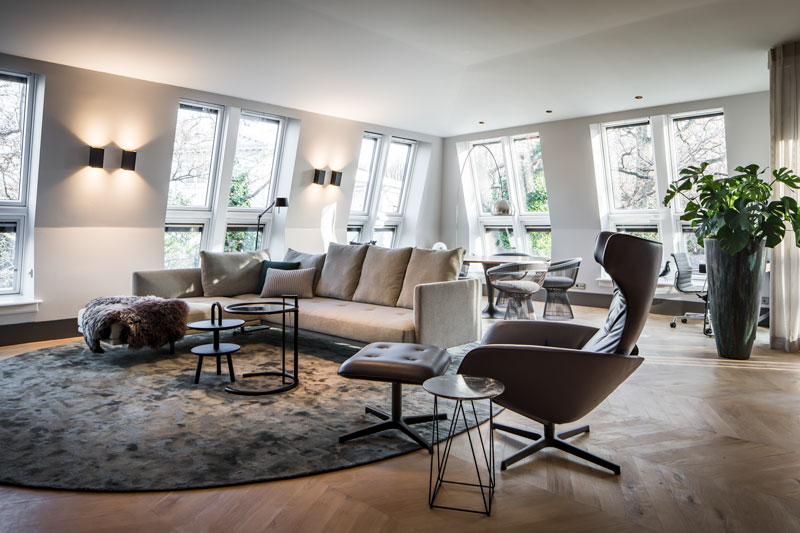 Linda Lagrand, luxe appartement