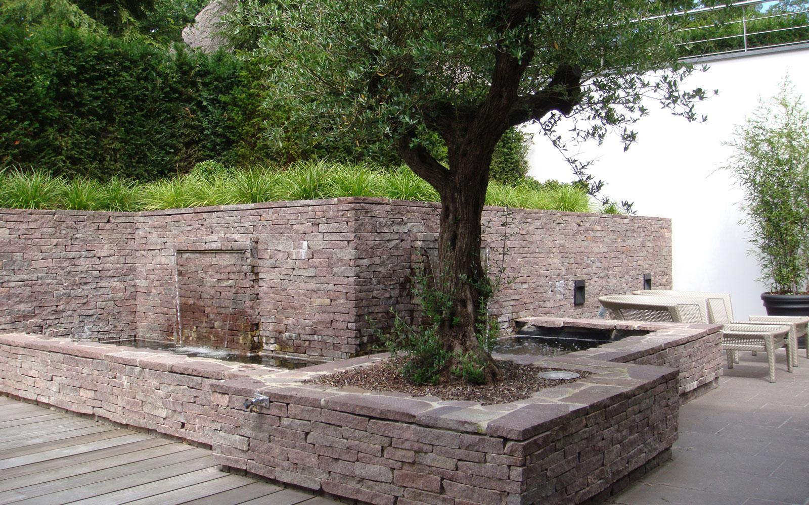 Moderne tuin, Leeflang Architectuur, Poortvliet en Partners