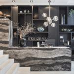 Kantoorinrichting, Kabaz Architecten, Luxueus interieur, Entree, Grachtenpand, Amsterdam, Kantorenpand, 5 Keizers, Balie, Lounge, Bar