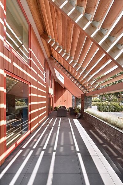 binnenkijken bij schuurwoning gerealiseerd door Morrenbouw, exterieur, architectuur