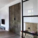 Stalen deuren met leer | De Rooy Metaaldesign | Osiris Hertman