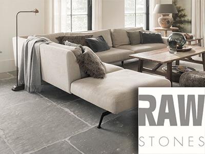 RAW Stones, natuurlijke vloer, stenen vloer