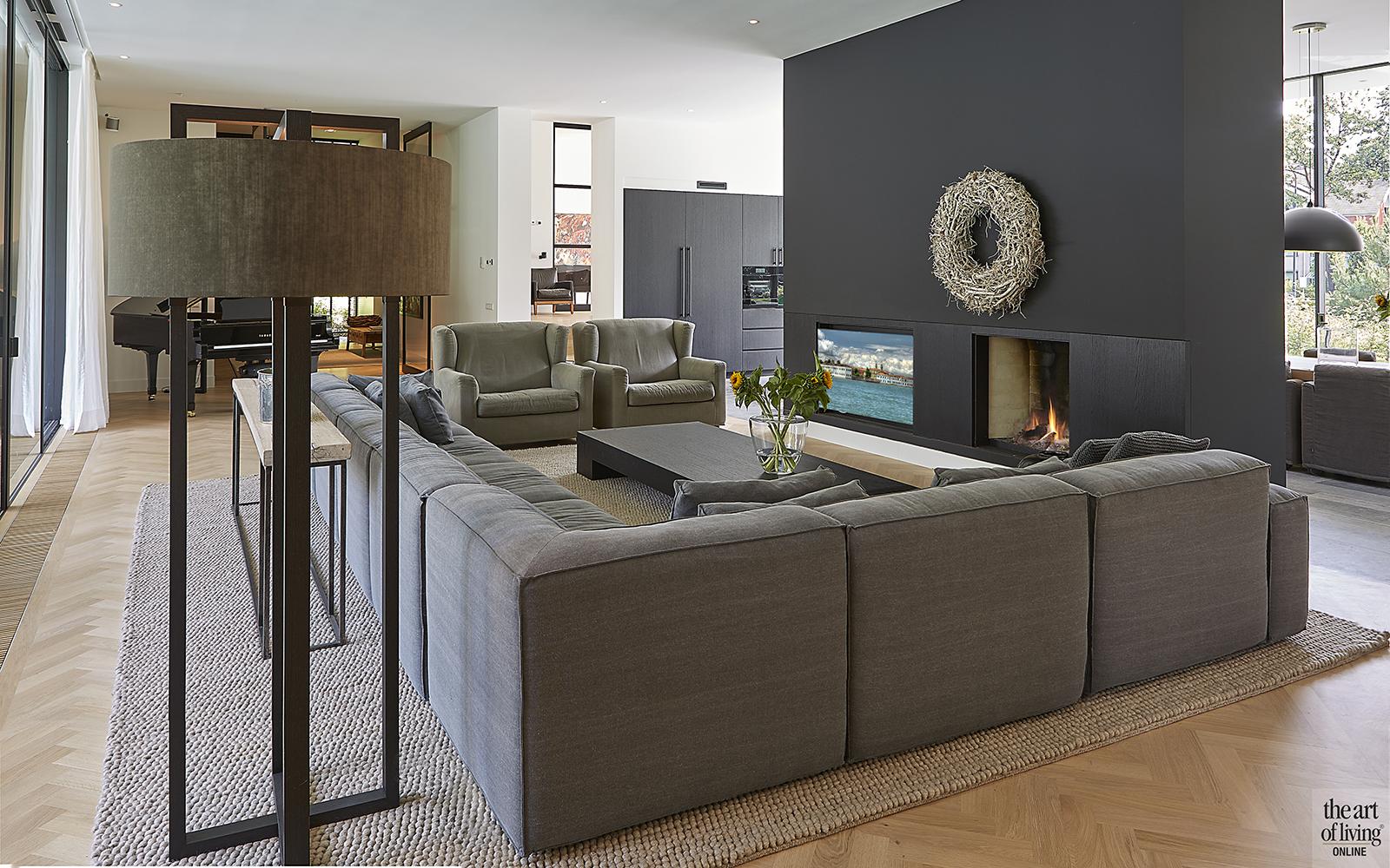 Nieuwbouw villa, Split level, Strak, Modern, Joost van der Sande