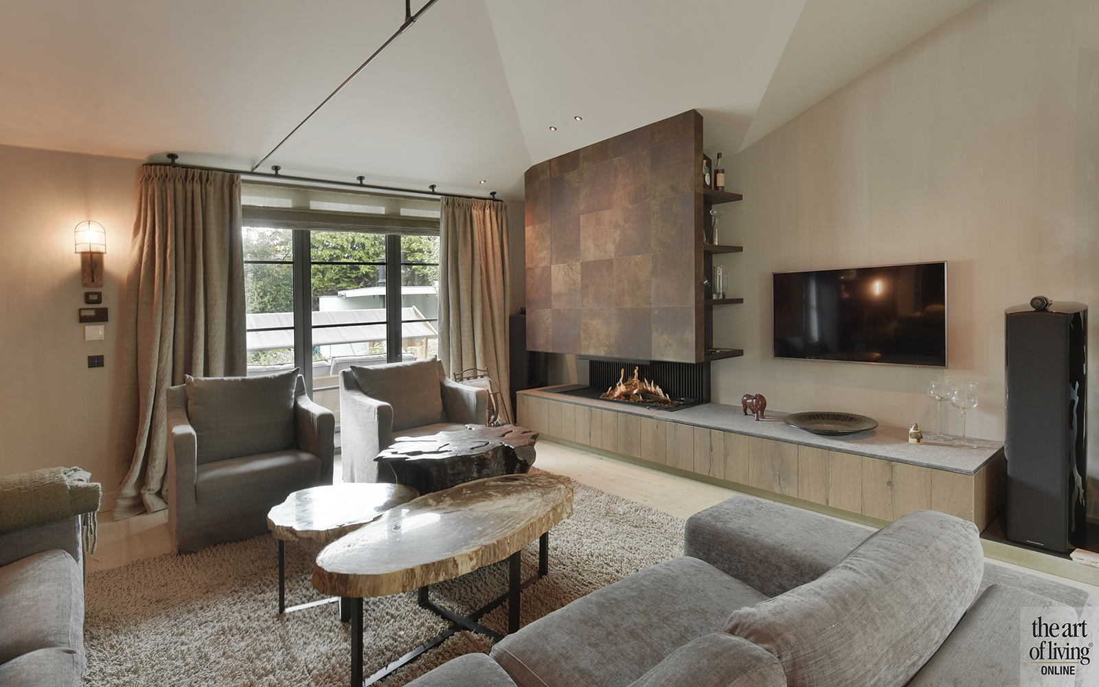 luxe villa, van der padt, the art of living