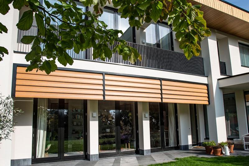 Houten louvre panelen, Livium, shutters, louvre panelen