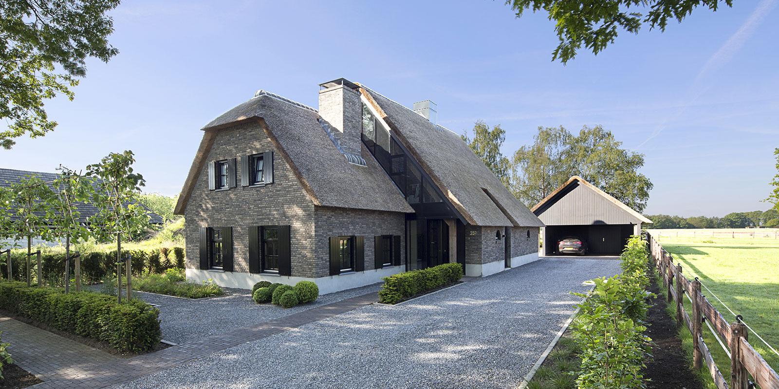 vermeer architecten, villa bouwen