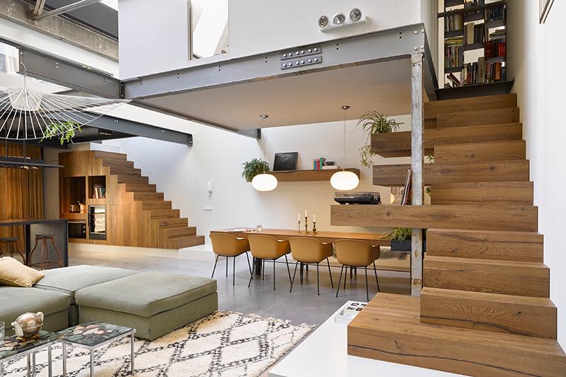 Luxueuze loft interieur | ZW6, Studio JVZ
