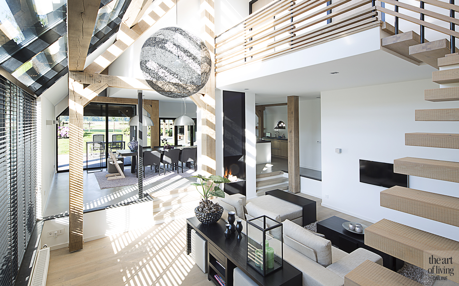landelijk wonen vermeer architecten landelijk interieur modern interieur betonlook vloer gietvloer