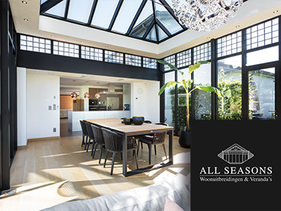 all seasons veranda's, poolhouses, tuinkamer, veranda, serre, the art of living