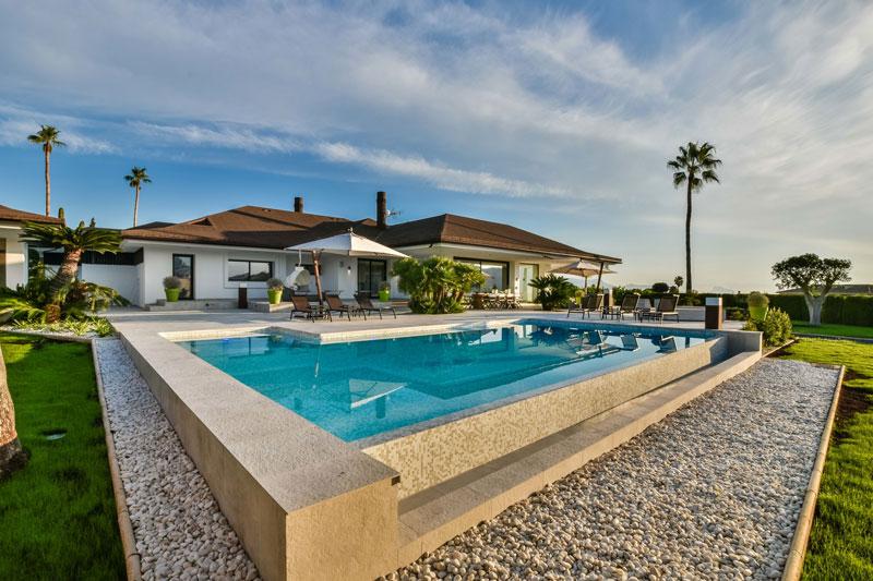 mediterraanse villa, maretti lighting, villa spanje, lichtplan, design verlichting