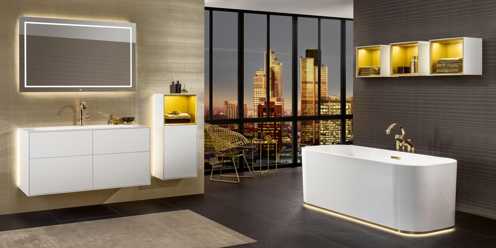 luxe badkamer, villeroy & boch, vrijstaand bad, wastafel badkamer, complete badkamer