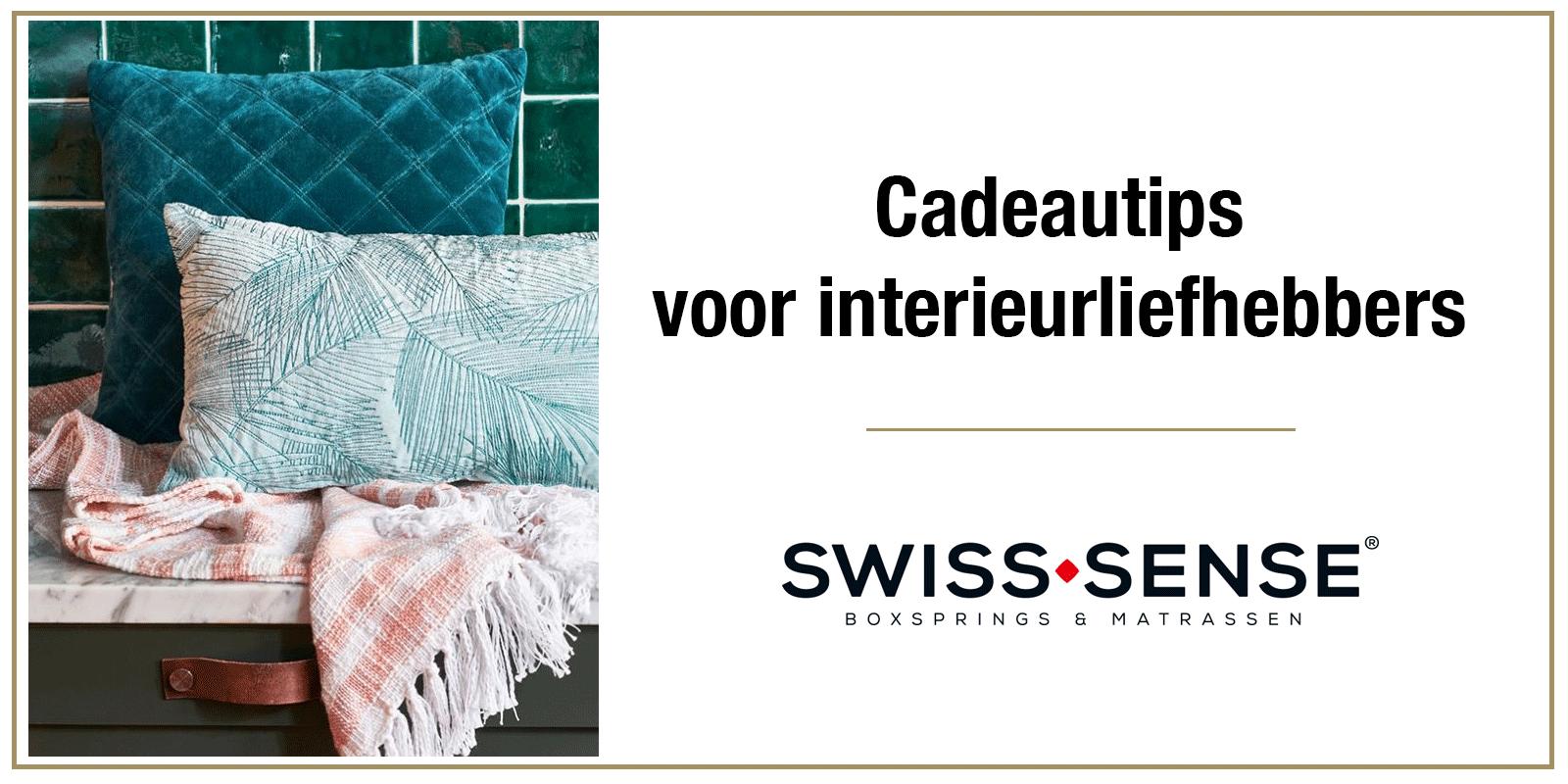 Swiss Sense - Cadeautips voor interieurliefhebbers