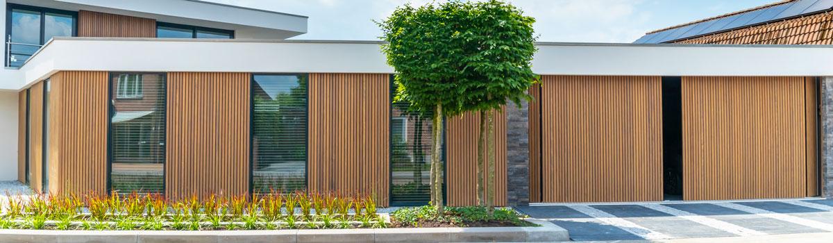 houten garagedeur, different doors, garagedeur op maat