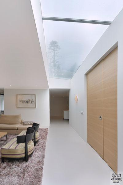 Hedendaagse bungalow, CKX Architecten, leefkeuken, natuursteen