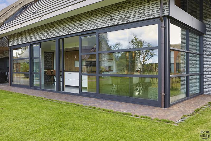 moderne boerderij, lauwers ontwerp, the art of living