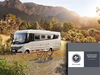 Niesmann Bischoff, luxe campers, the art of living, woonevent, event, event voor wonen, woonbeurs, camper, exclusieve camper