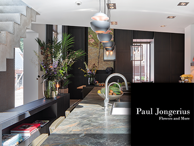 paul jongerius, decorateur, bloemenspecialist, stylist, groen stylist, the art of living, woonevent, event voor wonen, woonbeurs