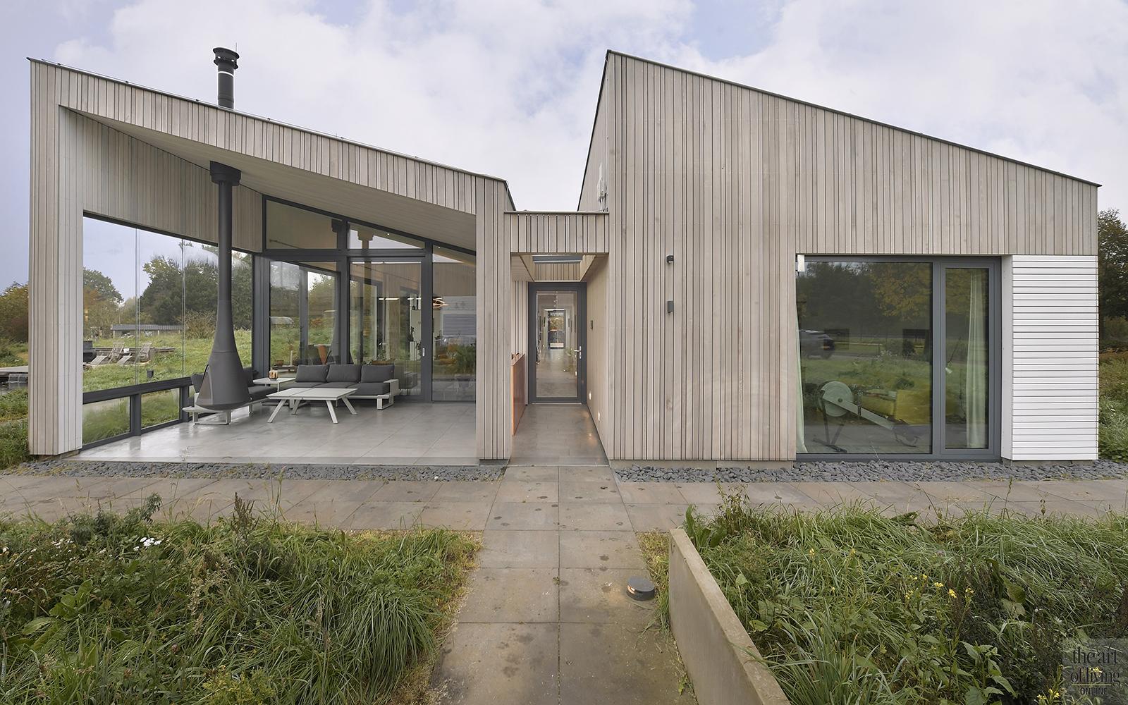 Luxe villa aan bosrand, Richard Brok, SILVERwonen, natuur, bosrijke omgeving, gelijkvloers, moderne woning