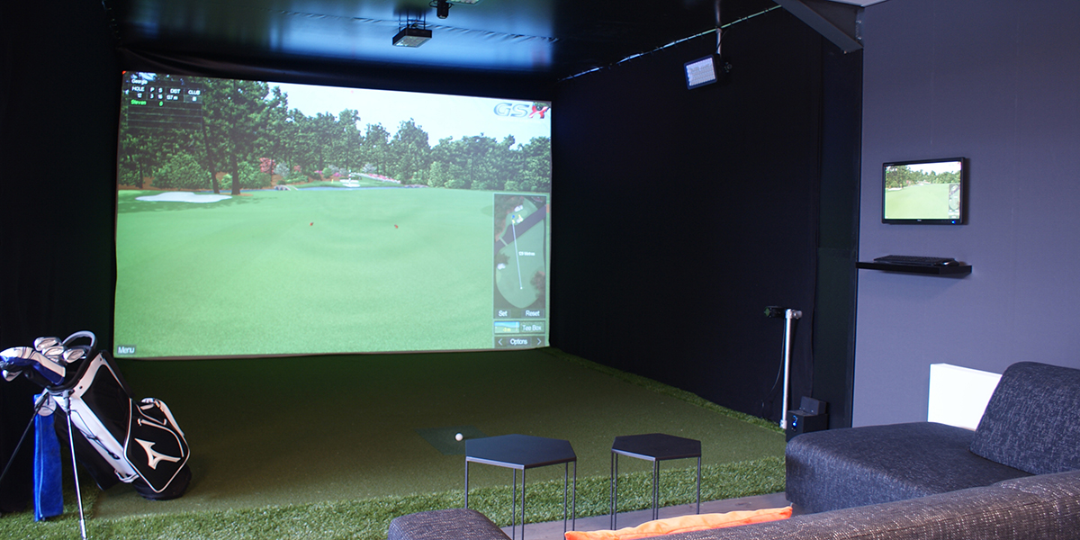 dutch golf company, golf simulator, the art of living, event, woonbeurs, event voor wonen, golf simulatie, golf