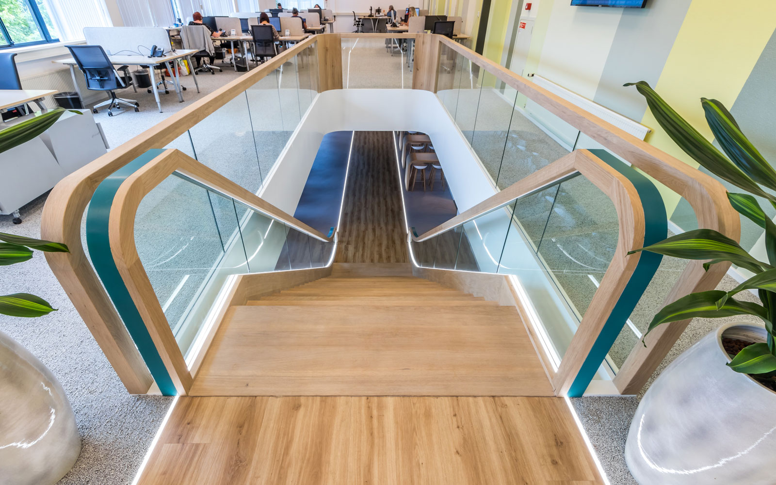 moderne trap, van bruchem staircases, luxe trap, trap op maat