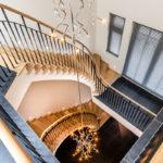 Eikenhouten trap, Van Bruchem staircases, luxe trap, trap op maat