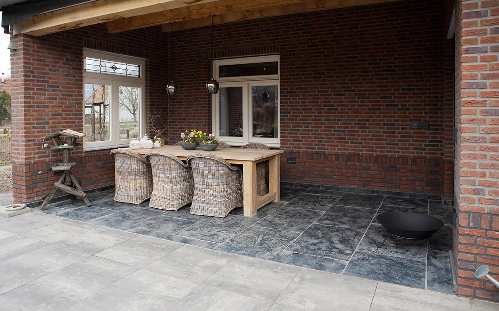 Natuursteen als basis, Van den Heuvel & Van Duuren, landelijke stijl, interieur, exterieur, tegels