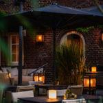 Comfortabel, Design meubilair, Borek, Buitenmeubels, Terras, Restaurant Oonivoo, Design, High-End